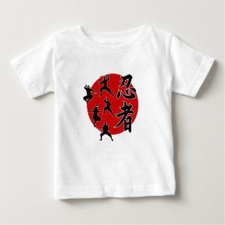 忍者 ベビーTシャツ