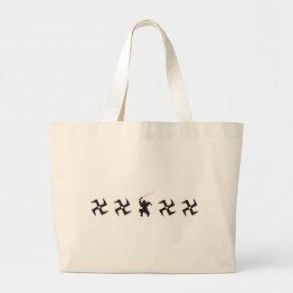 忍者 ラージトートバッグ