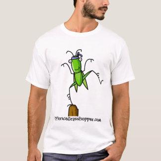 忍耐のバッタのバランス Tシャツ