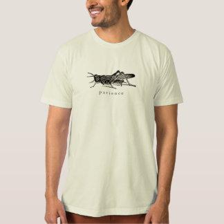 忍耐のバッタのTシャツ Tシャツ