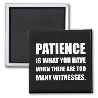 忍耐余りにも多くの証人 マグネット