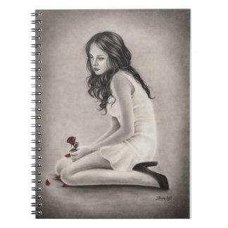 忘れられたバラのノート ノートブック