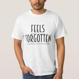 忘れられる感じます Tシャツ