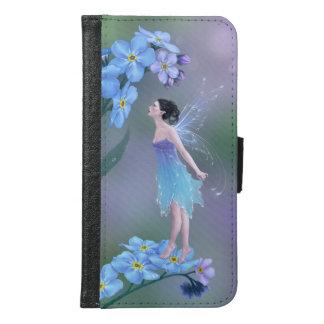 忘れ私ない花の妖精の銀河系S6のウォレットケース GALAXY S6 ウォレットケース