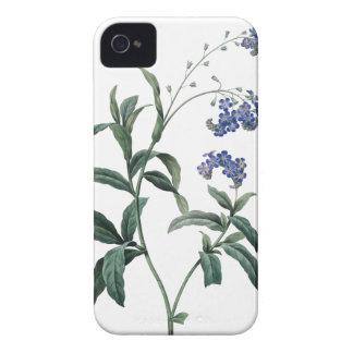 忘れ私ないRedouteの植物のイラストレーション Case-Mate iPhone 4 ケース