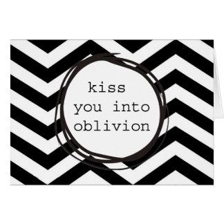 忘却に接吻して下さい グリーティングカード