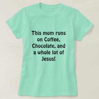 忙しいお母さんのワイシャツ Tシャツ