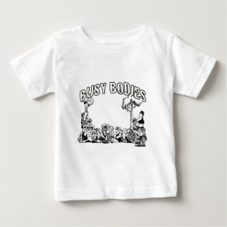 忙しいボディ ベビーTシャツ