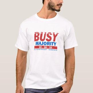 忙しい大半のTシャツ Tシャツ