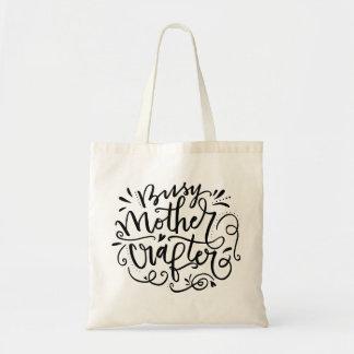 忙しい母Crafter トートバッグ