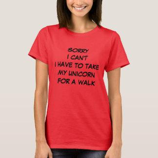 忙しい Tシャツ