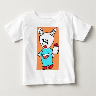忙しいRabbit.jpg ベビーTシャツ
