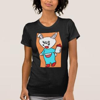 忙しいRabbit.jpg Tシャツ