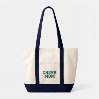 応援のお母さんのグリッターのバッグ トートバッグ