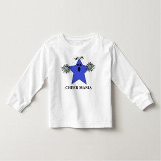 応援の星の小型マスコット トドラーTシャツ