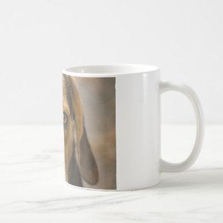 忠節なビーグル犬の猟犬の猟犬 コーヒーマグカップ