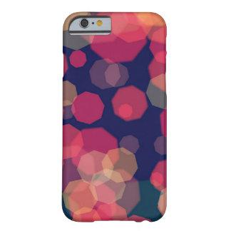 快活で抽象的な紫色およびピンクのIPhone6ケース Barely There iPhone 6 ケース