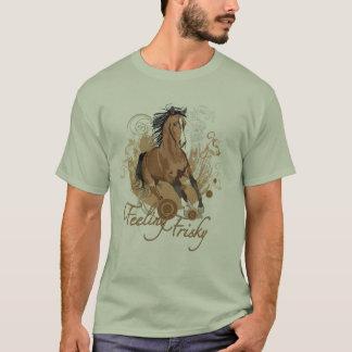 快活な基本的なTシャツを感じること Tシャツ