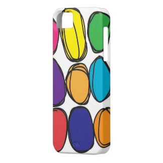快活な色の電話箱 iPhone SE/5/5s ケース