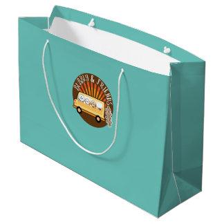 快活、友人取得旅行 ラージペーパーバッグ