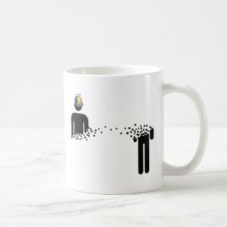 念力移動のマグの規則 コーヒーマグカップ