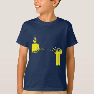 念力移動の暗闇の規則 Tシャツ