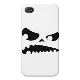 怒っているカボチャ iPhone 4 ケース