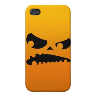 怒っているカボチャ iPhone 4/4S カバー