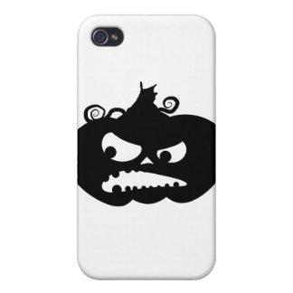 怒っているカボチャ iPhone 4/4S ケース