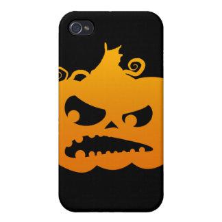 怒っているカボチャ iPhone 4 COVER