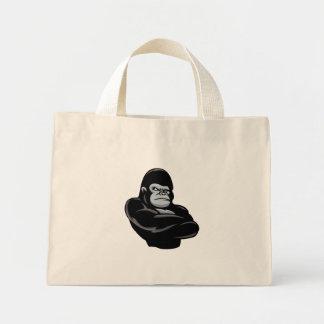 怒っているゴリラ ミニトートバッグ