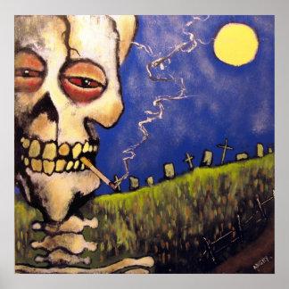 怒っているジョニー著墓地の詩人ポスター ポスター
