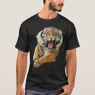 怒っているトラ Tシャツ