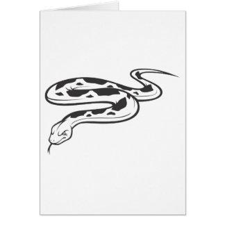 怒っているビルマの大蛇 カード