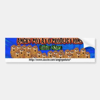 怒っているポテトの生産--オンライン店のバンパーStic バンパーステッカー