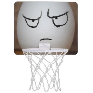 怒っている卵の小型バスケットボールのゴール ミニバスケットボールネット