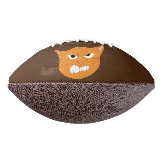 怒っている猫のフットボール アメリカンフットボール