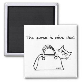 怒っている猫はあなたの財布を盗みます マグネット