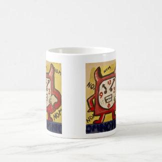 怒っている空腹な警報マグ コーヒーマグカップ
