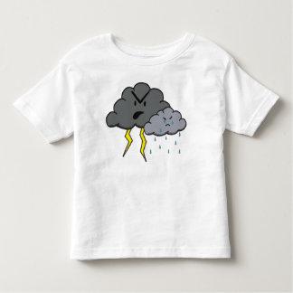 怒っている雲 トドラーTシャツ