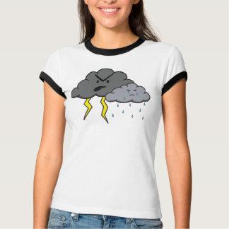怒っている雲 Tシャツ