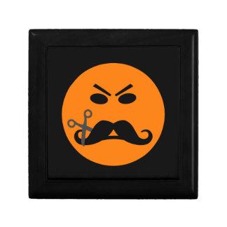 怒っている髭のにこやかなギフト/ジュエリー/装身具箱 ギフトボックス