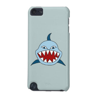 怒っている鮫 iPod TOUCH 5G ケース