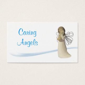 思いやりがある天使の看護 名刺