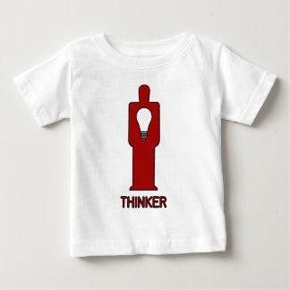 思想家のISOTYPE ベビーTシャツ