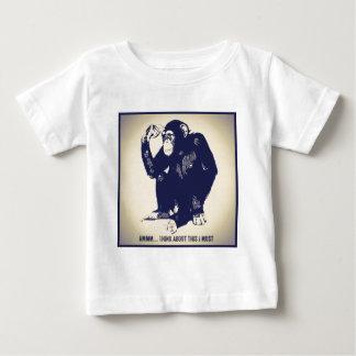 思想家 ベビーTシャツ