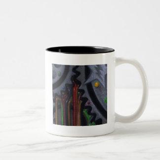 思考のマグ ツートーンマグカップ