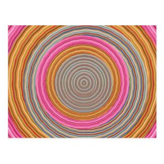 思考の波の無限-人類の単一性 ポストカード