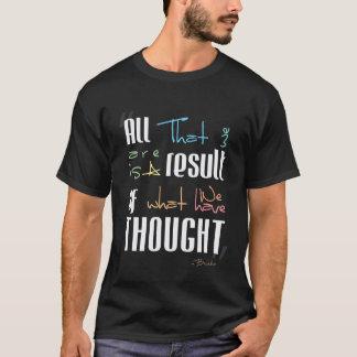 思考の結果 Tシャツ