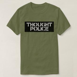 思考の警察 Tシャツ